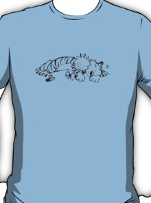 Calvin & Hobbes Sleeping T-Shirt