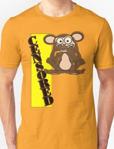 Censored Monkey Tee Design 1 (Fur) T-Shirt