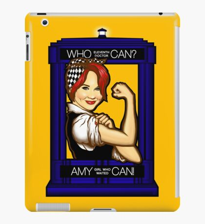 Amy Can! iPad Case/Skin