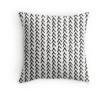 Hand Drawn Abstract Pattern Throw Pillow