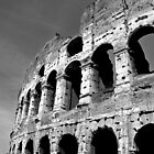 B & W  Colleseum by Iain Mavin