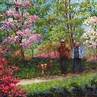 In the Azalea Garden by Susan Savad