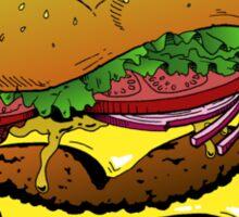 Cheeseburger Cheeseburger Cheeseburger Sticker