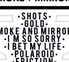 Imagine Dragons-Smoke + Mirrors Tracks Sticker