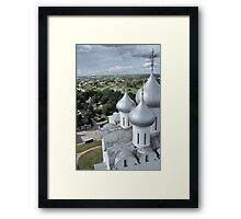 dome of St. Sophia Cathedral  Framed Print