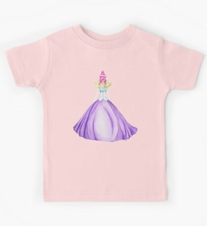 Waterlily, the princess Kids Tee