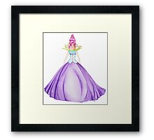 Waterlily, the princess Framed Print