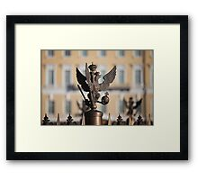 double eagle guard Framed Print