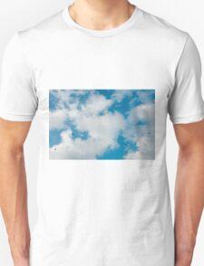 sky, cloud and birds T-Shirt
