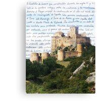 El Castillo De Loarre Canvas Print