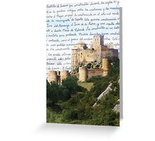 El Castillo De Loarre Greeting Card