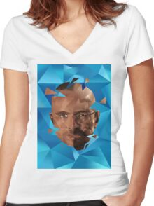 Breaking Bad- Walter & Jesse Women's Fitted V-Neck T-Shirt