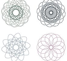 Colorful Spirographs by AnnArtshock