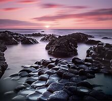 Giant's Causeway Sunset by Phil Newberry