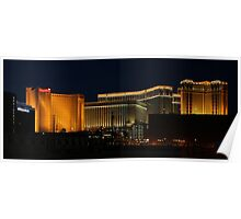Las  Vegas by Night Poster