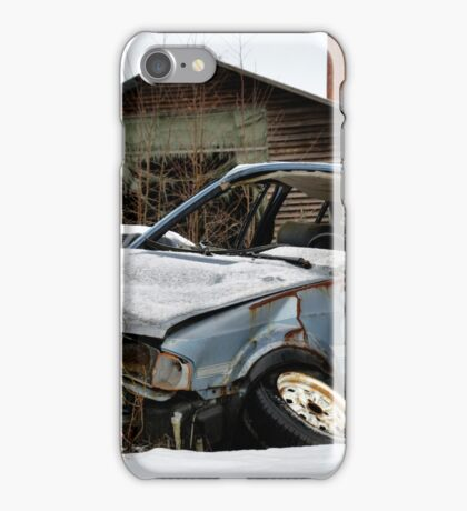 5.3.2015: Abandoned Car III iPhone Case/Skin