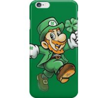 Lucky Mario iPhone Case/Skin
