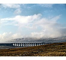 The colour of winter in the dales Photographic Print