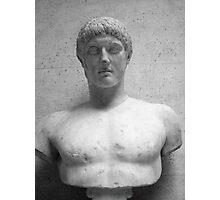 Roman Bust Photographic Print