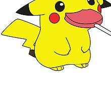 Pikachu's Lollipop by rewydo
