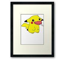 Pikachu's Lollipop Framed Print