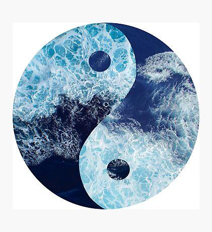 Ocean Yin Yang Photographic Print