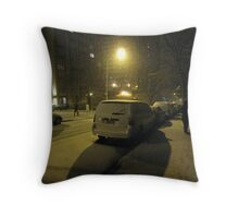 snow 2 Throw Pillow