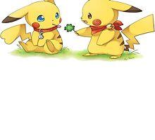 Pikachu Shamrock by rewydo