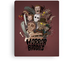 Horror Baddies Canvas Print