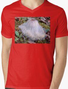 Cousin It Mushroom Mens V-Neck T-Shirt