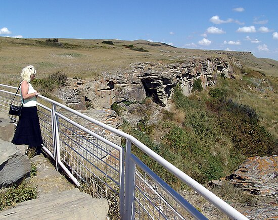 Buffalo Jump by George Cousins