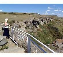 Buffalo Jump Photographic Print
