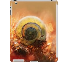 Morning impression with small shell iPad Case/Skin