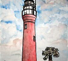 St Johns River Florida Lighthouse by derekmccrea