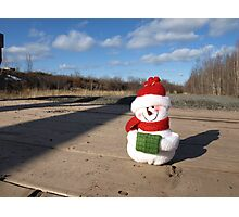 Waiting for Christmas 2 Photographic Print