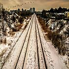 The Railway Tracks by KatMagic Photography