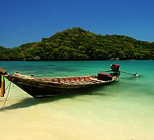 Thai Boat by Gyuri Nagy