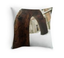 Needle Snow - St. Petersburg, Russia Throw Pillow