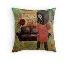 Vintage Mania Throw Pillow Throw Pillow