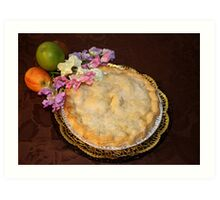 Apple Pie to be served with Cream !!! Art Print