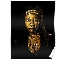 Michonne Golden Poster