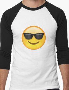 Sunglasses Emoji Men's Baseball ¾ T-Shirt