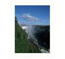 Iguacu falls  Art Print
