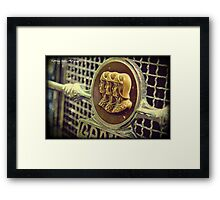 Three Heads are Better Than One Framed Print