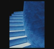 Blue Stairs by DeMello