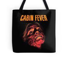 Cabin Fever Skull Face Tote Bag