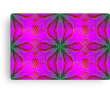 Frosted Cranberry Glass Canvas Print