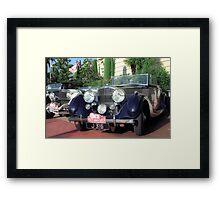 Classic car, Monaco Framed Print