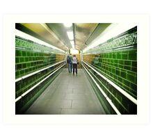 regents park tube station Art Print