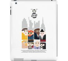 NEW YORK STORIES: GARGOYLES OF NY MOVIE POSTER iPad Case/Skin